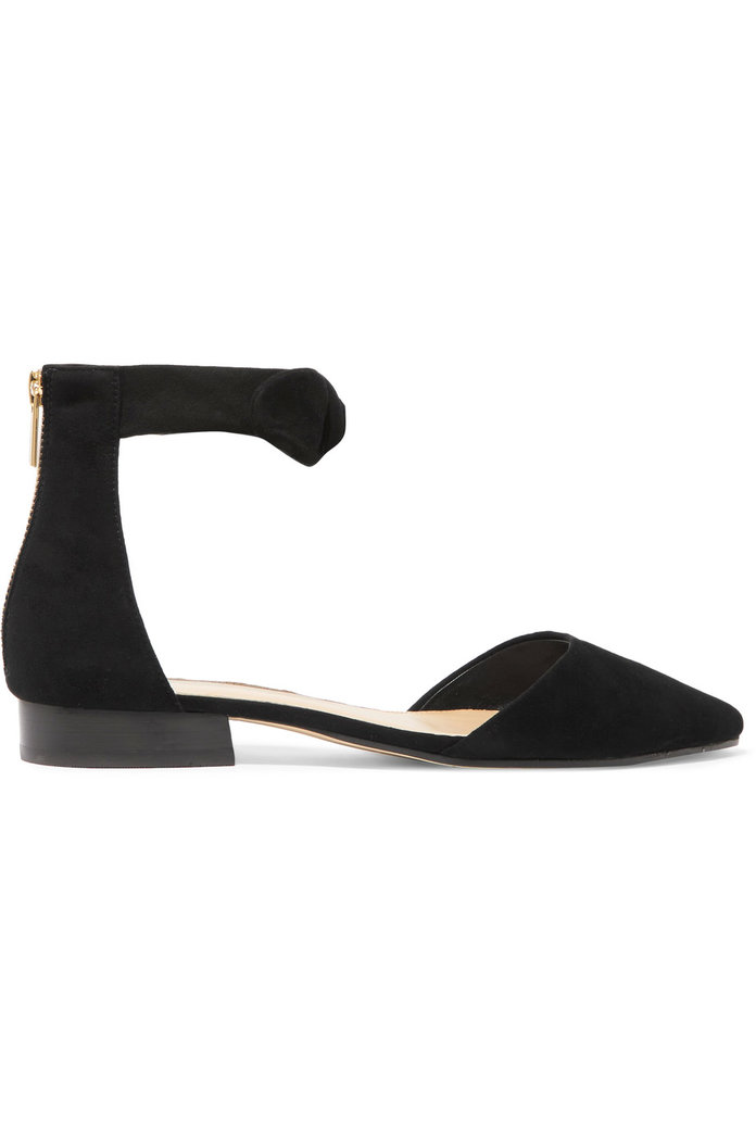 Michael Michael Kors Alina knotted suede flats