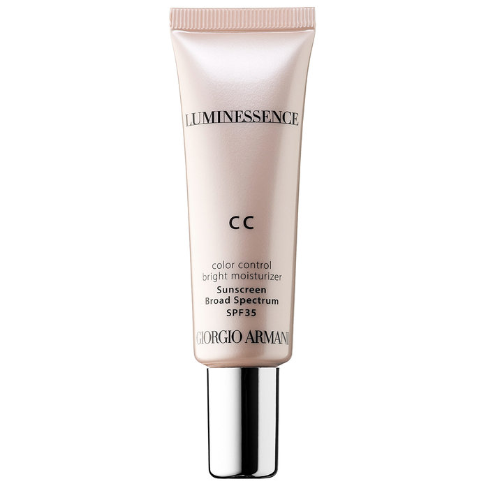 <p>Giorgio Armani Beauty Luminessence CC Color Control Bright Moisturizer SPF 35</p>