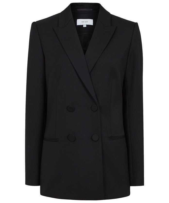 Reiss Double-Breasted Blazer