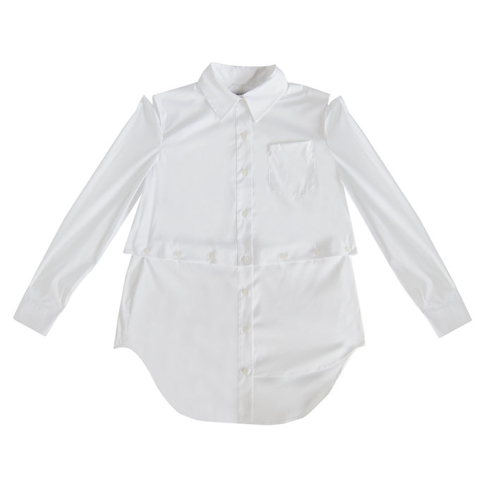 <p>DECONSTRUCTED BUTTON-DOWN</p>