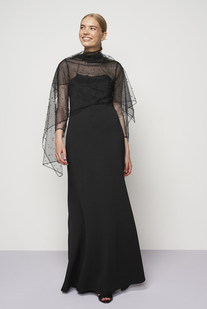 The Embellished Gown (and Shawl!)