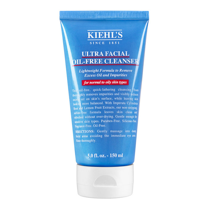 <p>Kiehl's Ultra Facial Oil-Free Cleanser </p>