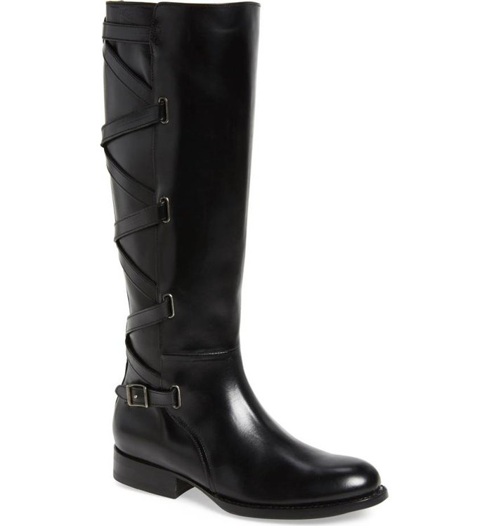 Frye Jordan Strappy Knee High Boot