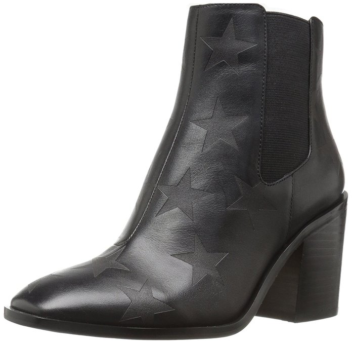 The Fix Delany Block-Heel Chelsea Boot Ankle Bootie
