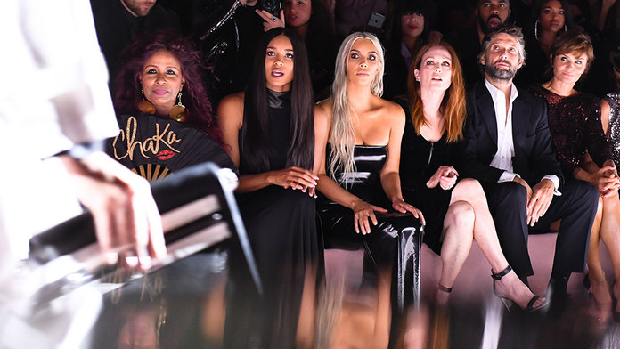 All The Ultra Glam FROW Action From NYFW SS18