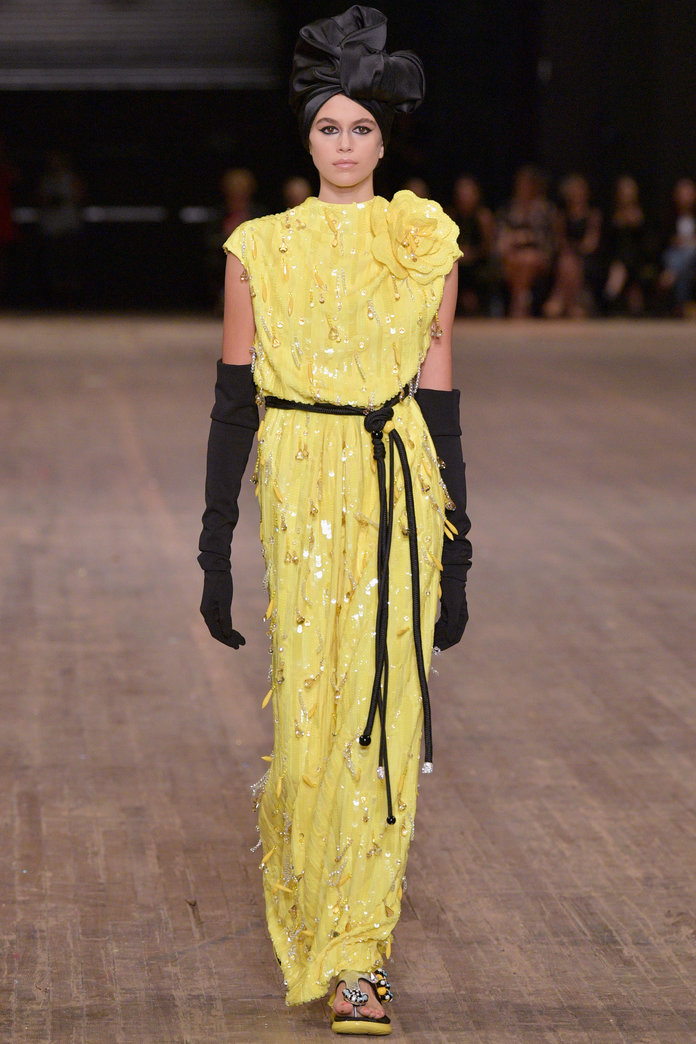 <p>at Marc Jacobs.</p>