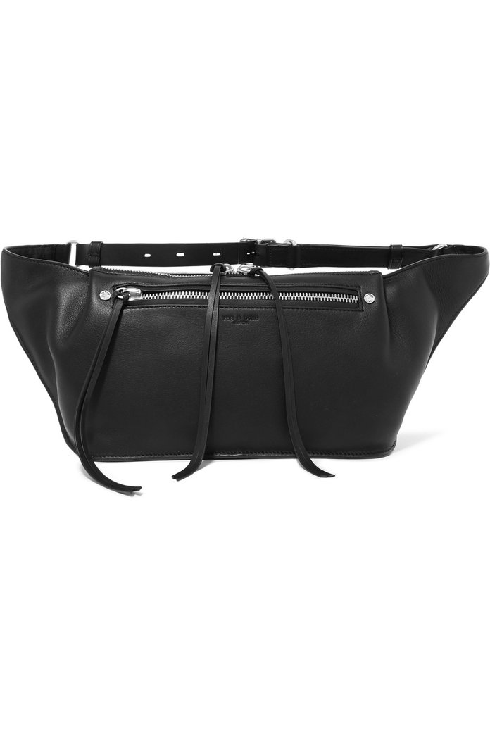Rag & Bone Ellis large textured-leather belt bag