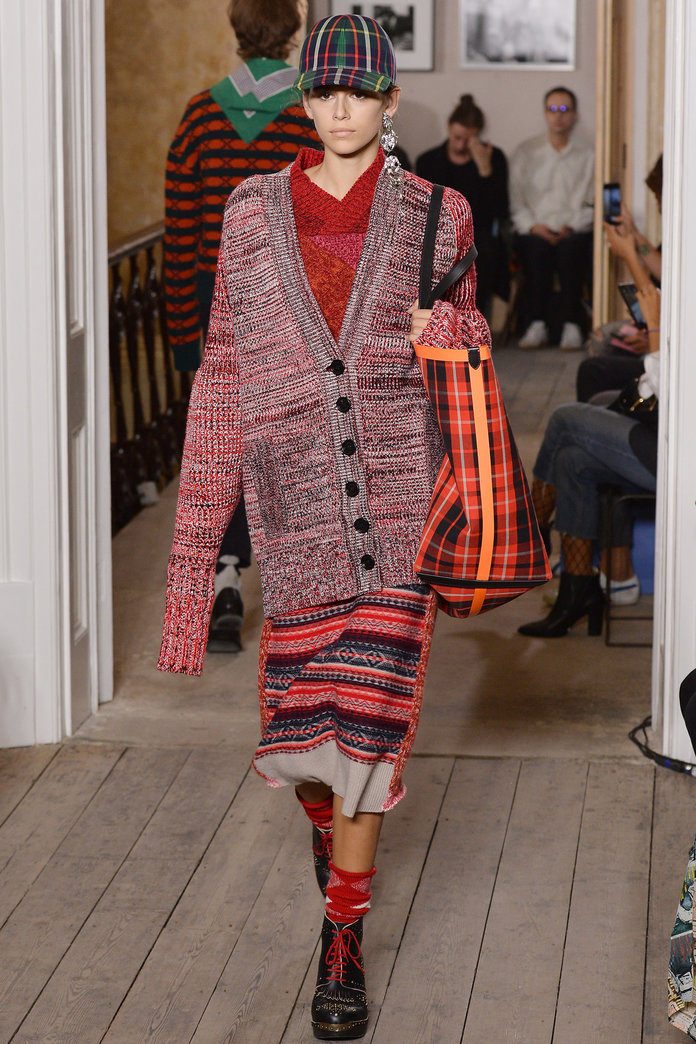 <p>at Burberry.</p>