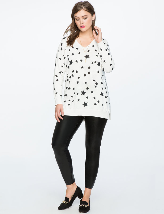 The Star-Printed Pullover