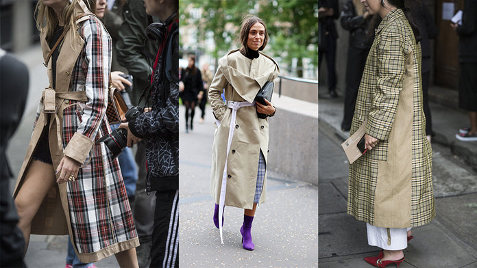 The Coat The Street Style Set Were Wearing At LFW