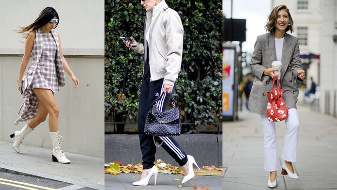 Thought You Had It Nailed With Red Boots? Sorry, There's Another Footwear Colour Trending...
