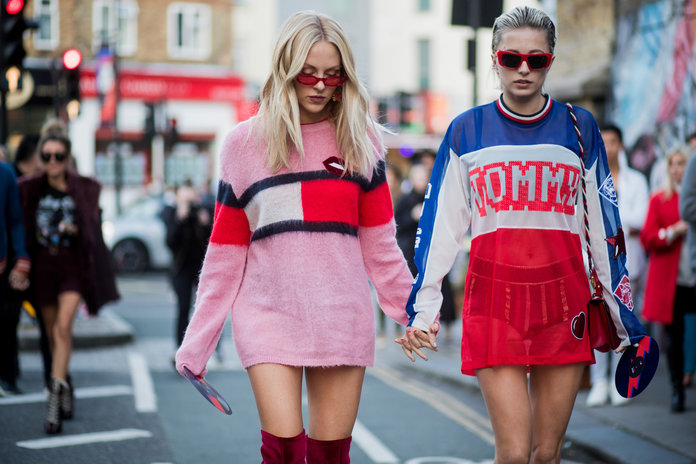 the best street style from london fashion week instyle com