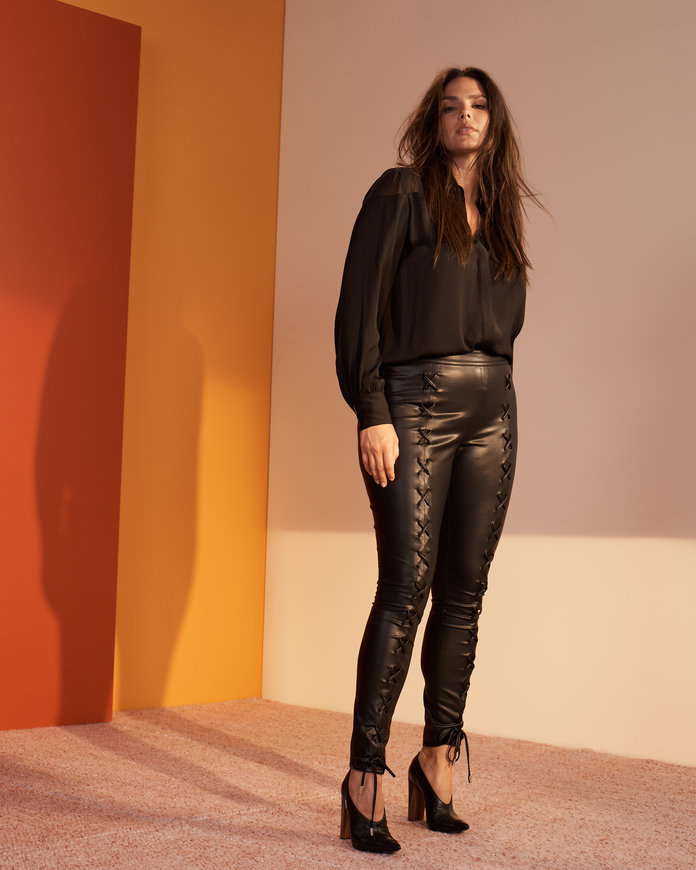 The Faux Leather Pants You've Been Waiting For
