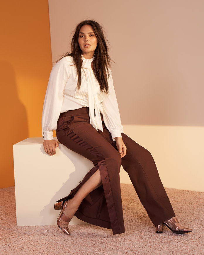 <p>The Side Snap Trousers</p>