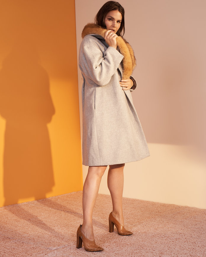 <p>The Knockout Coat</p>
