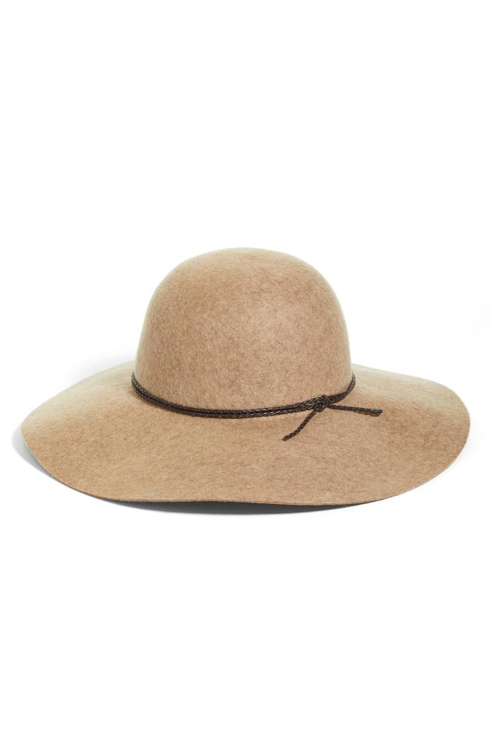 Halogen Wool Floppy Hat