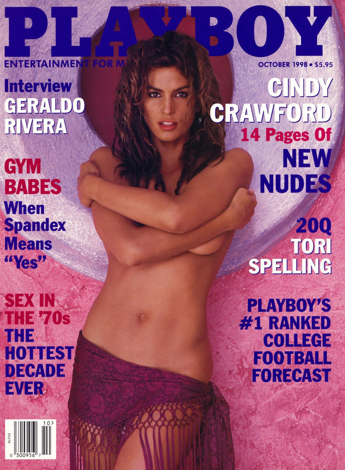 <p>Cindy Crawford (October 1998)</p>