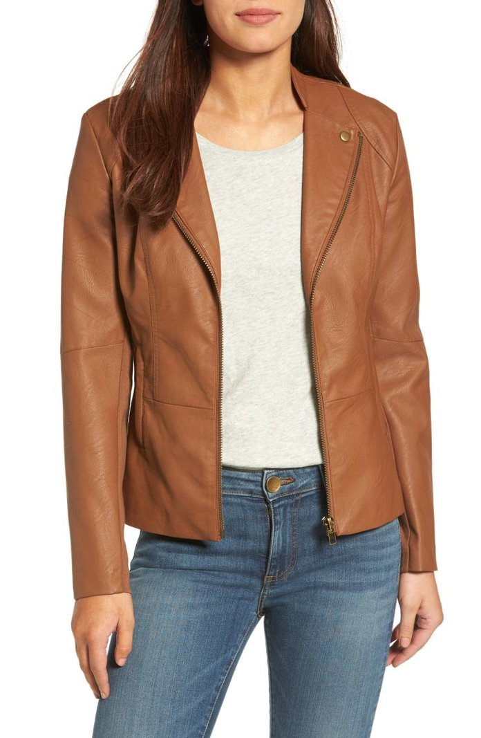 Kut from the Kloth Aniya Faux Leather Jacket