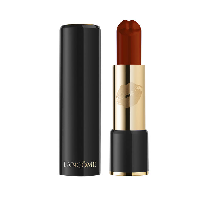 """<p><a href=""""http://www.lancome.ca/en/new/collections/fall-2017-olympia-le-tan/olympia-le-tan---labsolu-rouge-le-bisou/A00369-LAC.html"""" title=""""Olympia Le-Tan - L'Absolu Rouge Le Bisou"""">L'AbsoluRougeLe Bisou </a><a href=""""http://www.lancome.ca/en/new/collections/fall-2017-olympia-le-tan/olympia-le-tan---labsolu-rouge-le-bisou/A00369-LAC.html#start=3&cgid=L3_MakeUp_Collection_FALL2017"""" target=""""_blank"""">Lipstick</a></p>"""