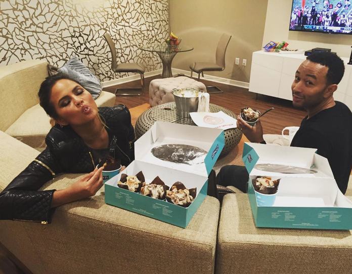 <p>When they chowed down on Cinnabon </p>