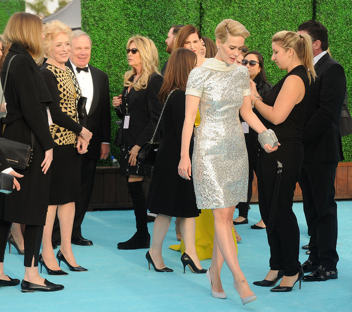 <p>When Holland was super supportive of Sarah</p>
