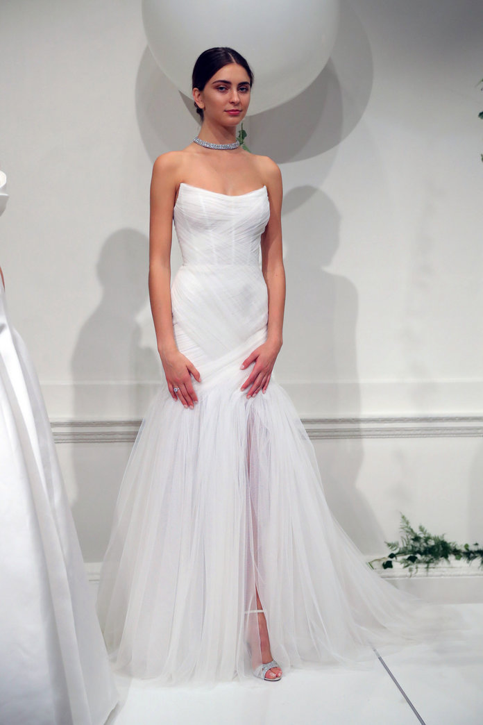 Bridal fashion weeks prettiest mermaid gowns instyle the prettiest mermaid wedding dresses from bridal fashion week junglespirit Gallery