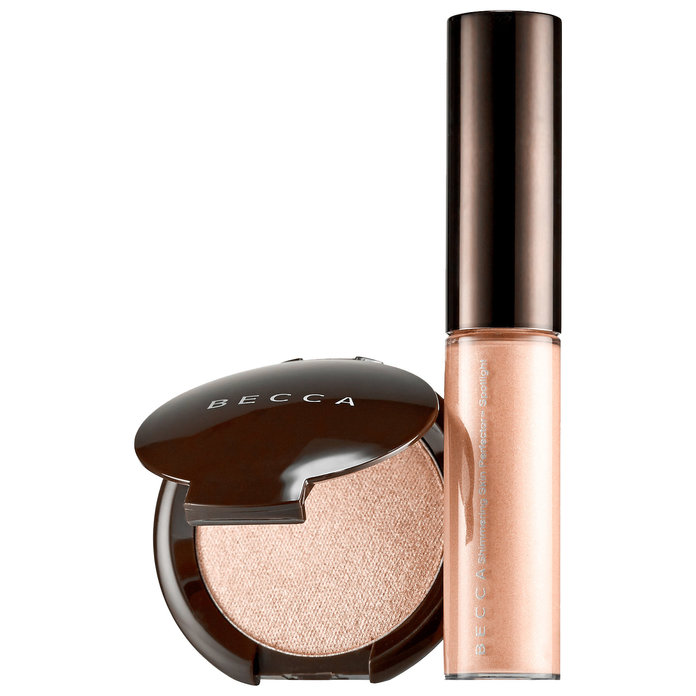 <p>Becca On The Glow Highlighter Set</p>