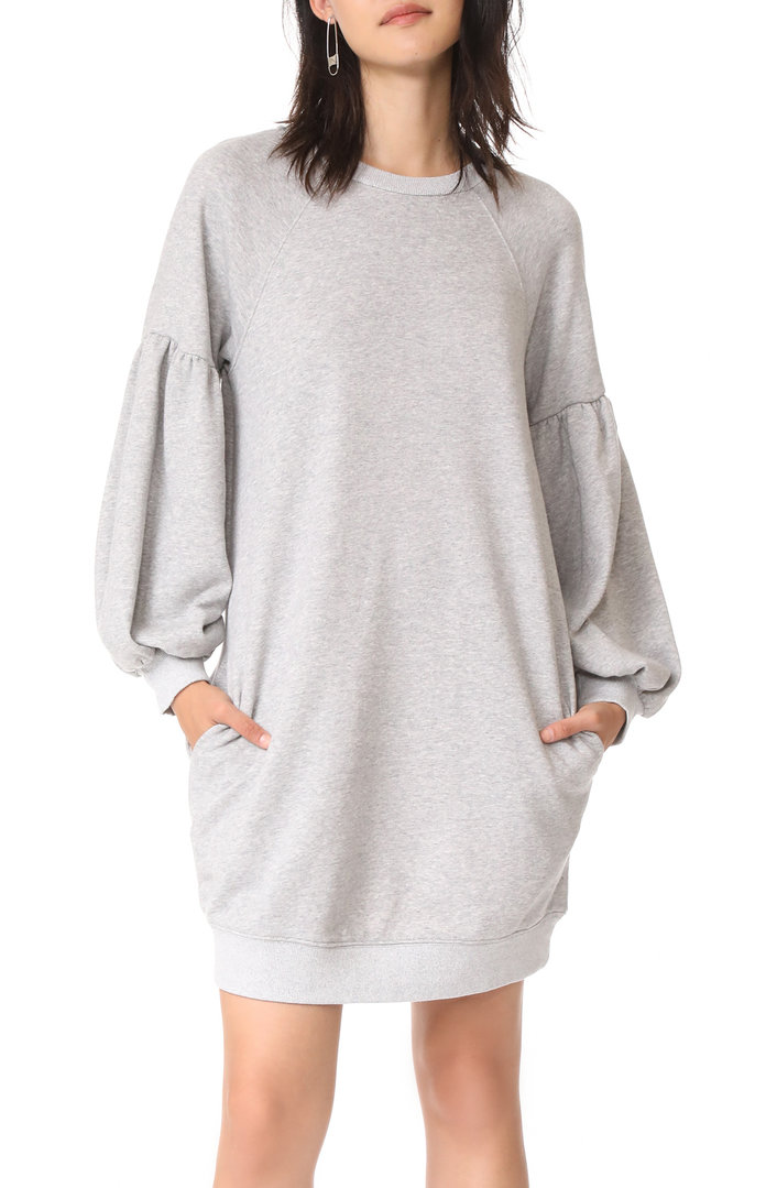 J.O.A. Sweatshirt Dress