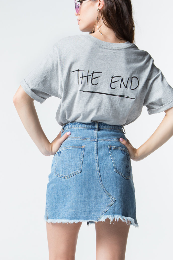 <p>The End T-shirt</p>