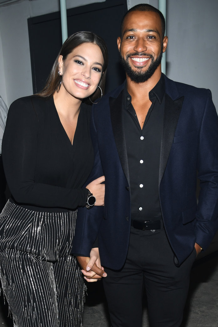 NEW YORK, NY - SEPTEMBER 13:  Ashley Graham and Justin Ervin attend Michael Kors and Google Celebrate new MICHAEL KORS ACCESS Smartwatches at ArtBeam on September 13, 2017 in New York City.  (Photo by Dimitrios Kambouris/Getty Images for Michael Kors)