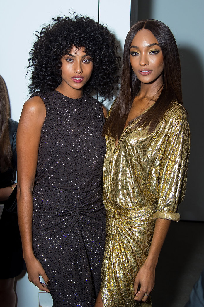 Imaan Hammam and Jourdan Dunn