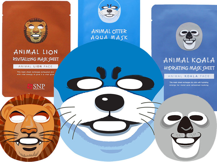 <p>ANIMAL-THEMED BEAUTY FACIAL MASKS</p>