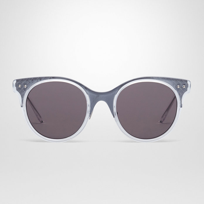 Bottega Veneta CRYSTAL ACETATE SUNGLASSES
