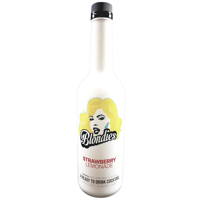 Blondies Strawberry Lemonade Vodka