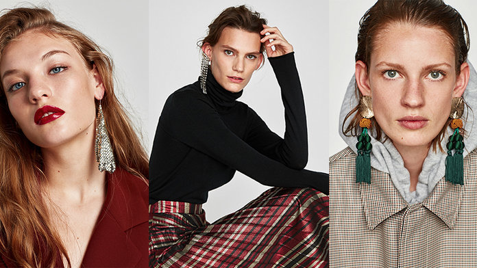 Zara'sEarring Collection Starts At £10 And You're About To Fall In Love