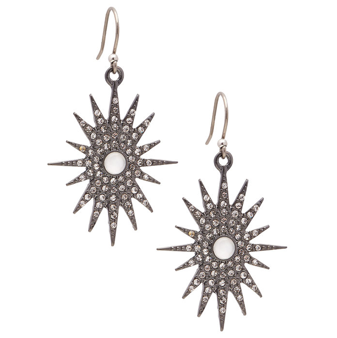 Lucky Brand's Gleaming Star Earrings