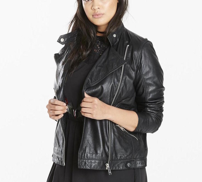 The Fall Staple is a Leather Jacket