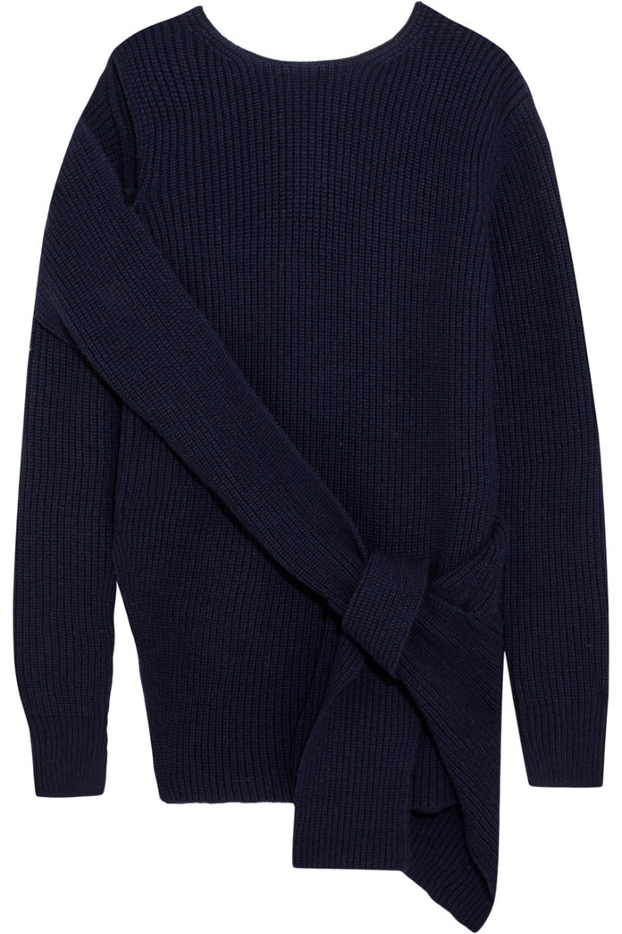 <p>The Bow-Front Pullover</p>