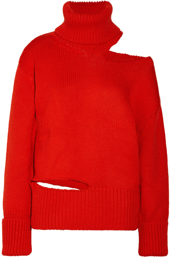 The Cut Out Sweater