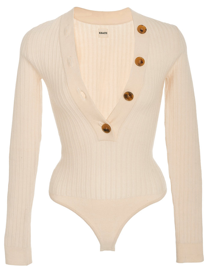 The Button-Detailed Bodysuit