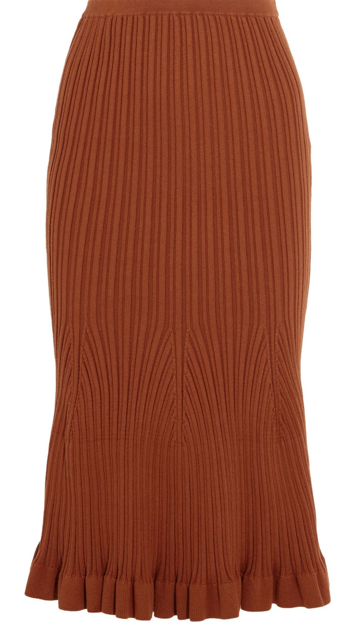 The Flared Hem Skirt