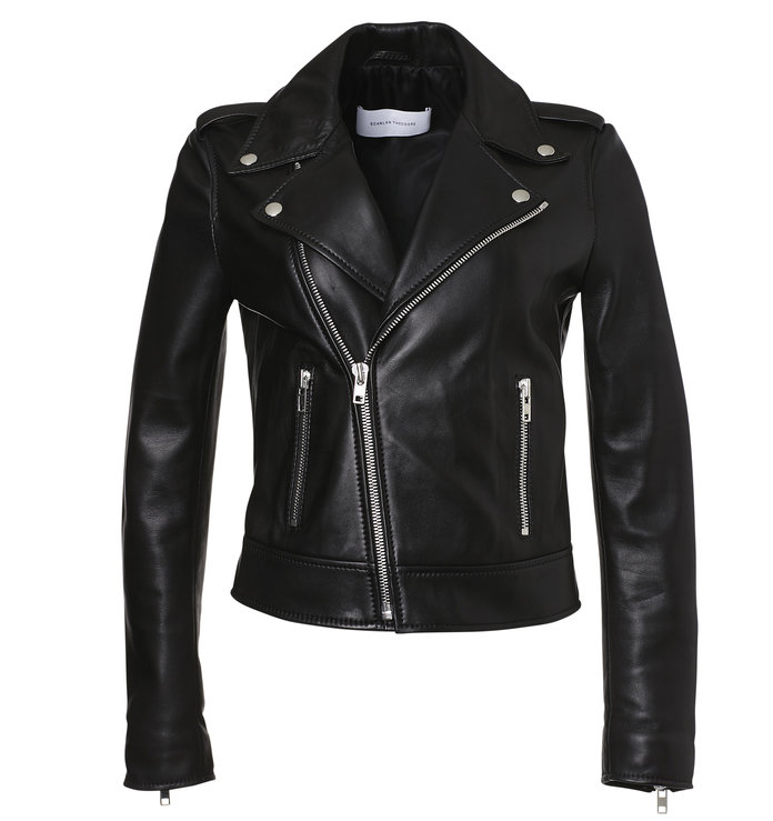 <p>the perfect leather jacket for layering by Scanlan Theodore</p>