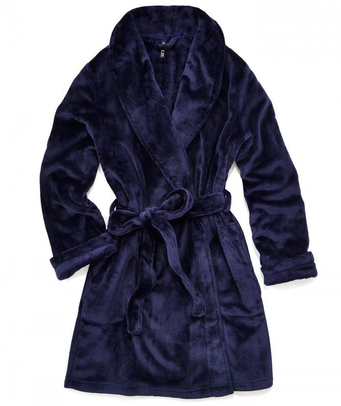 <p>a cozy robe to carry you through the holidays by Adore Me</p>