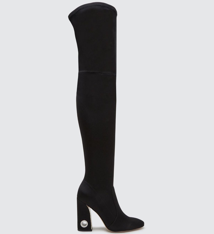 <p>An over-the-knee boot that adds sex-appeal by Dolce Vita</p>