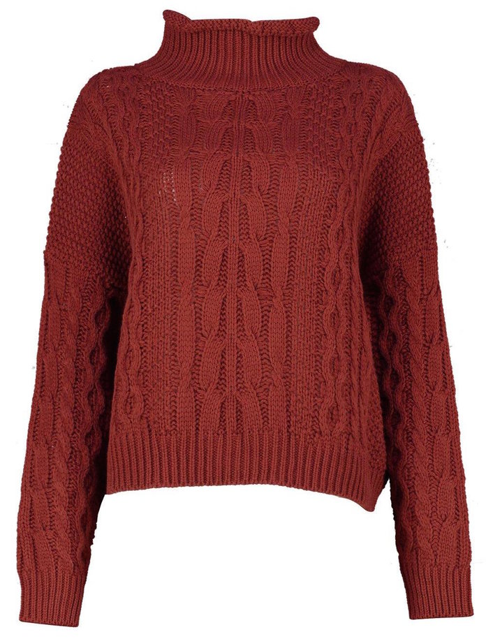 <p>A slouchy sweater for lazy mornings by boohoo</p>