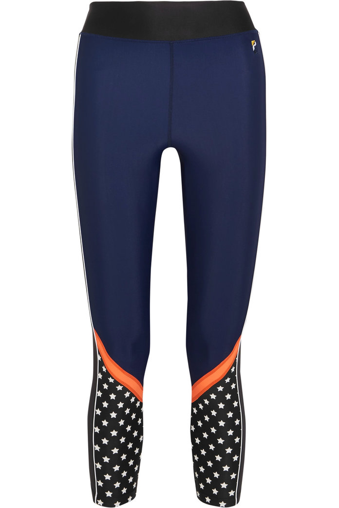 Cute workout leggings to motivate on snowy days by P.E Nation