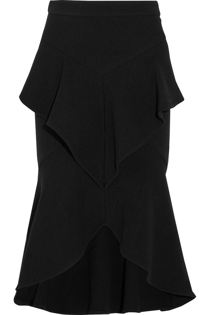 <p>The perfect day or evening skirt by Rebecca Vallance</p>