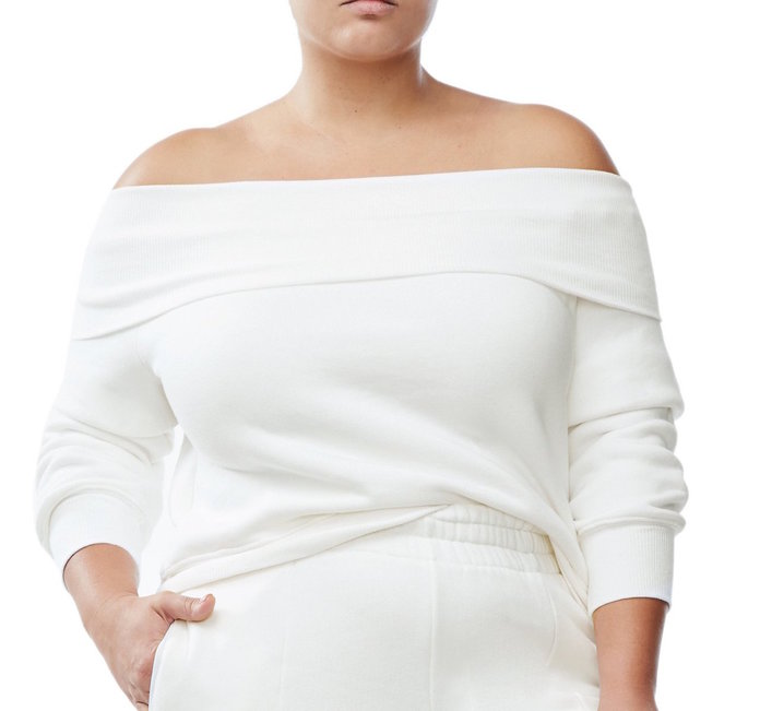 The Off-the-Shoulder Sweater by Good American
