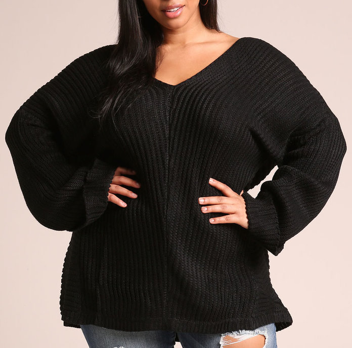 The oversized sweater by DebShops