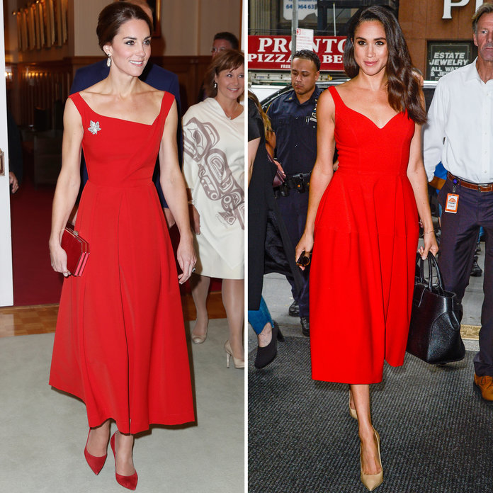 <p>Similarly Cut Red A-Line Dresses</p>